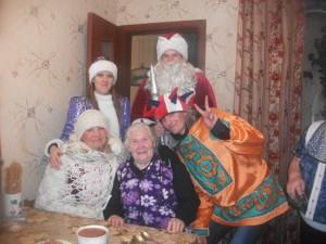 Рождество Христово в п. Чапаевский