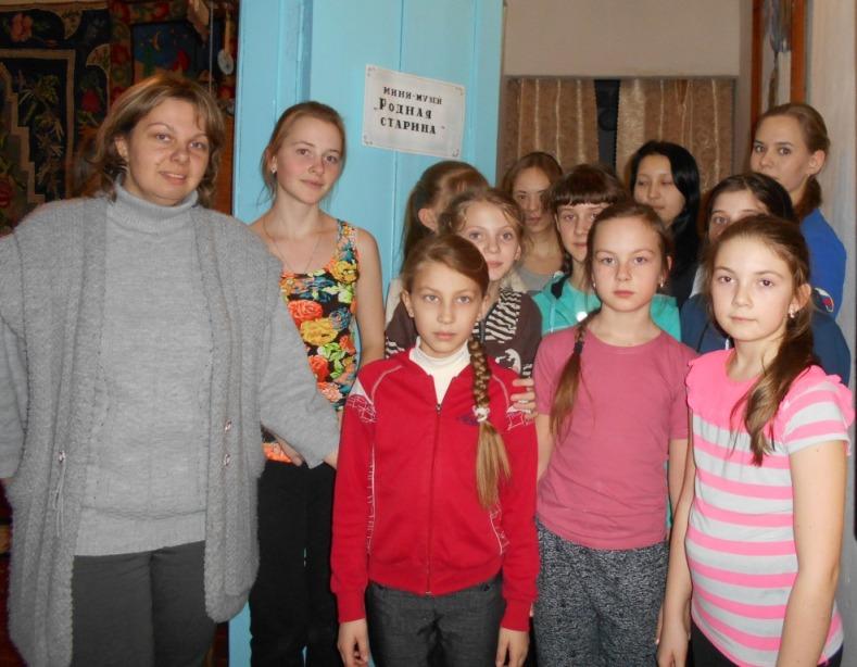 В ДК с. Клинцовка приобщают детей к народному творчеству