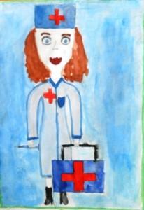 Школьники Пугачевского района нарисовали будущую профессию