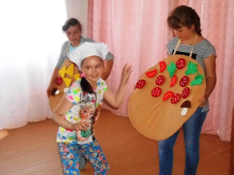 Игровая программа для пугачевских ребятишек