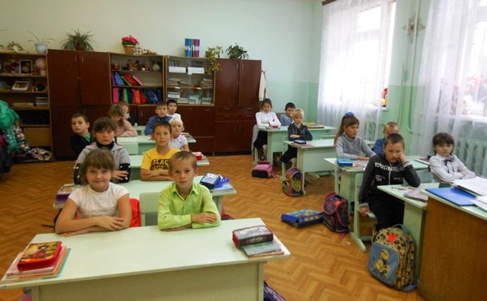 Школьники с. Давыдовка изучают историю края