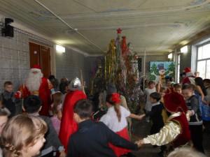 В ДК с.Давыдовка состоялся новогодний утренник