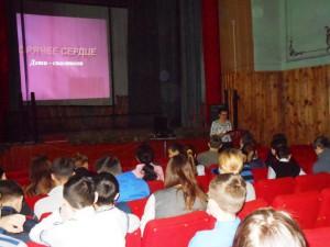 Школьники с.Давыдовка узнали имена детей-спасателей