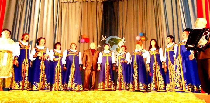 Праздничный концерт в  ДК с. Давыдовка