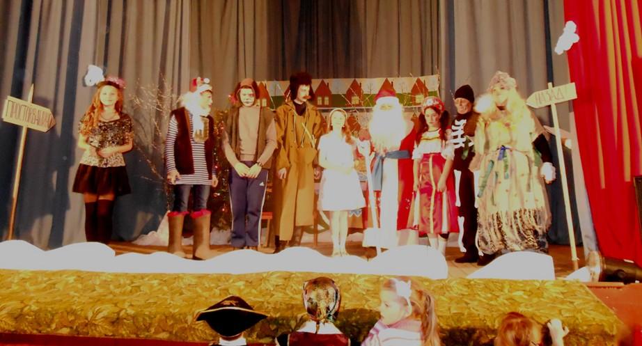 Герои мультика побывали в гостях у давыдовских ребятишек