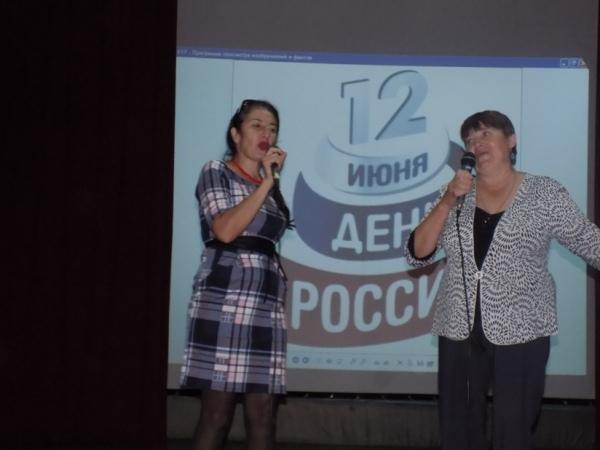 «Песни советского кино» в ДК с.Камелик