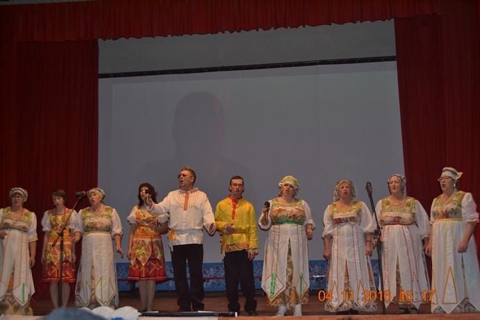 На праздничный концерт пригласили в ДК жителей  с. Березово