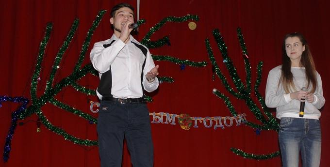 «Новогоднее веселье» состоялось в ДК села Рахмановка