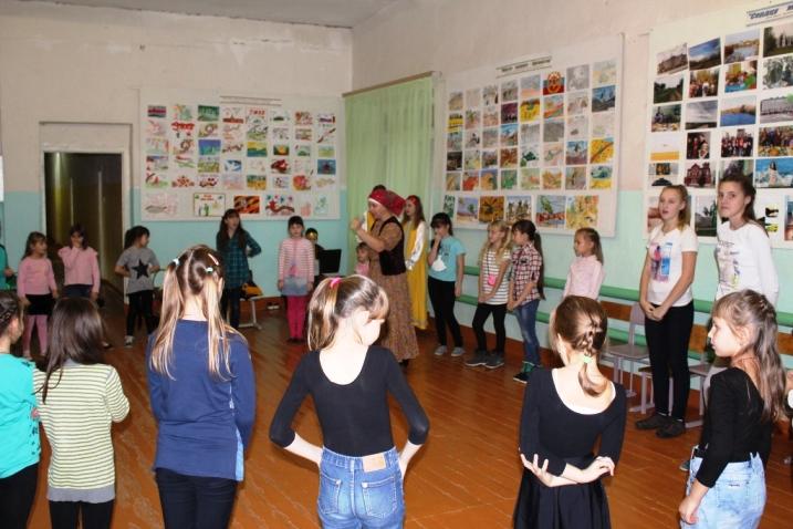 Фольклорный праздник прошел в ЦРТДЮ
