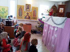 Пугачевские школьники побывали в п.Заволжском