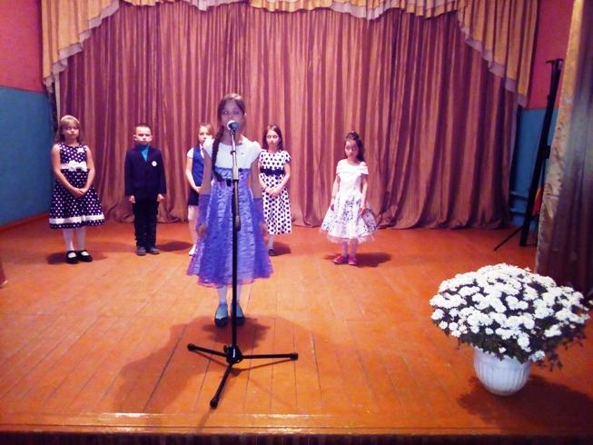 Дети п. Тургеневский состязались в конкурсе
