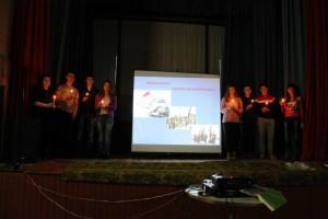 Школьники с.Давыдовка приняли участие в акции памяти