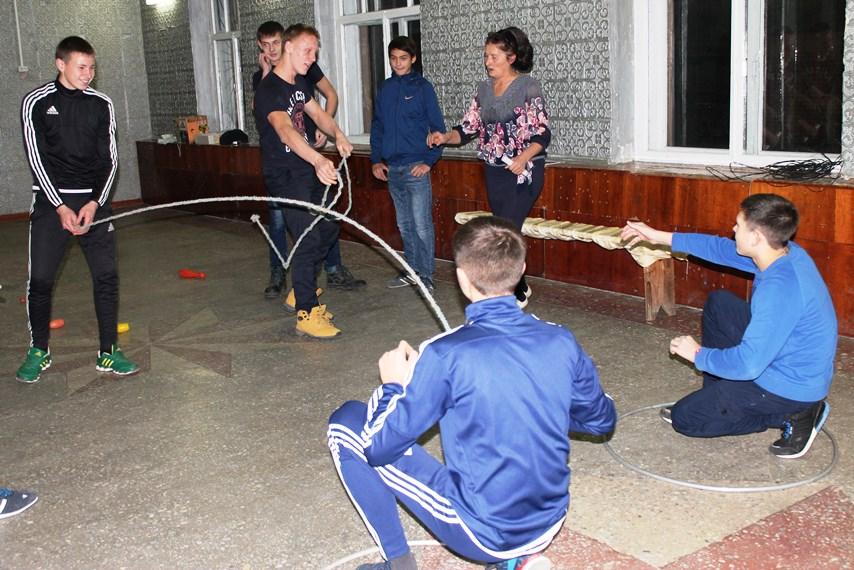 Конкурсная программа для молодежи в ДК с. Давыдовка