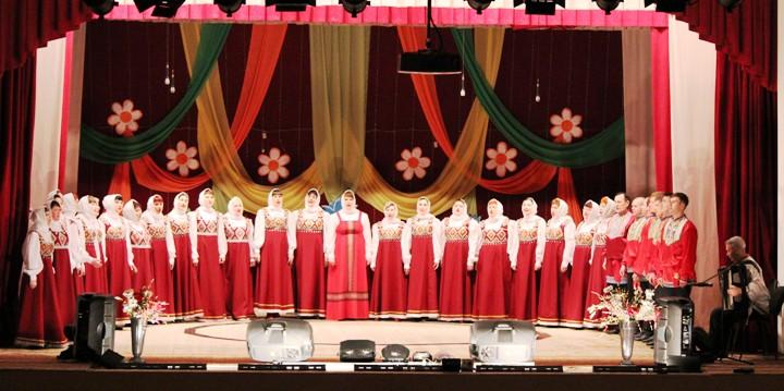 В Пугачеве состоялся отчетный концерт хорового коллектива