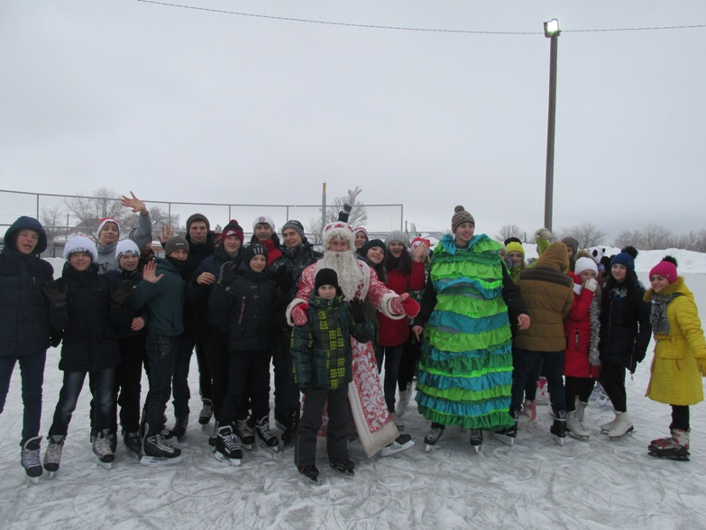 «Старый Новый год» на коньках