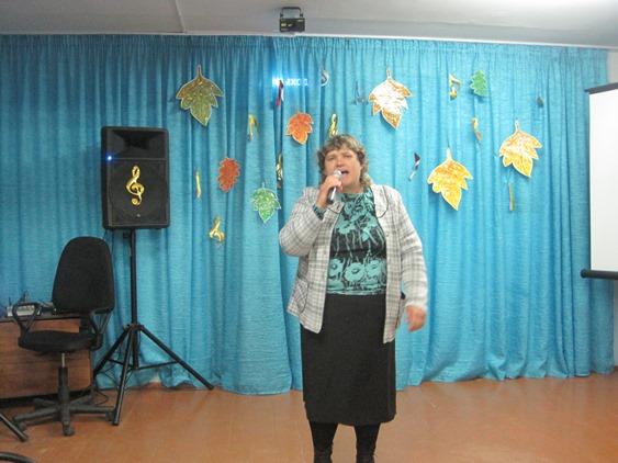 В ДК с. Успенка состоялся литературно-музыкальный вечер