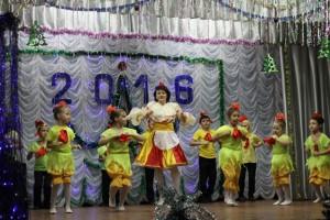 «Новогодний фейерверк» в ДК с.Надеждинка