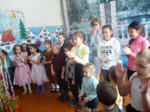 Дети п.Тургеневский побывали на новогоднем утреннике