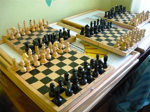 В увлекательное «Путешествие по шахматной доске» отправились жители с.Н. Порубежка