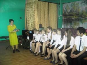 Жители с.Рахмановка приняли участие в Дне чтения