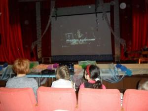 Дети с.Березово посмотрели музыкальный  фильм-сказку «Мама»