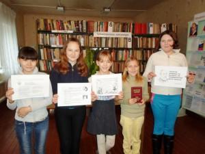 Информационный час для школьников п.Тургеневский