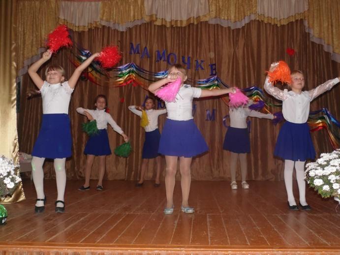 Концертная программа для женщин в ДК п. Тургеневский
