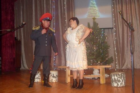 В ДК с. Преображенка подготовили подарок Деду Морозу
