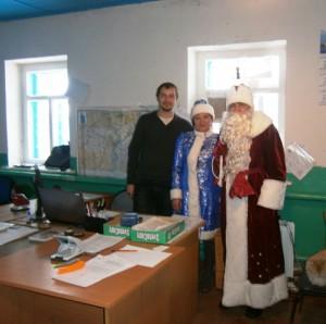 В Пугачевском районе продолжается новогодняя акция